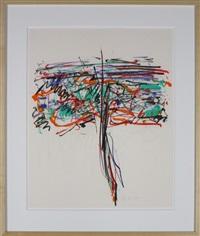 tree i by joan mitchell