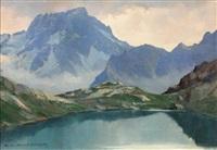 lac de lauzon et le sirac by charles henry contencin