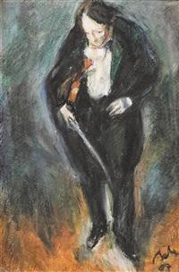 george enescu by corneliu baba