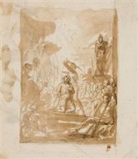 das maryrium des heiligen gereon by cornelis schut the elder