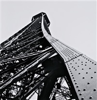 parís, torre eiffel, c. 1928 by joaquim gomis