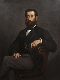 portrait d'homme by victor livache