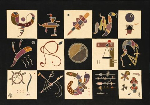 quinze by wassily kandinsky