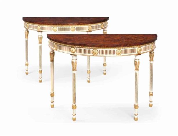 pier tables pair by arthur brett