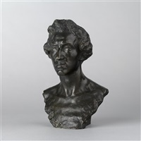 bust of frederic chopin by boris aronson