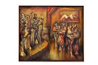 orquesta jazzista by jazzamoart