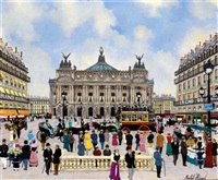 place de l'opéra by michel hermel
