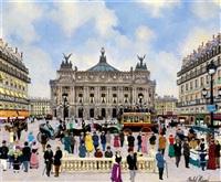 place de l'opéra by michel hermel