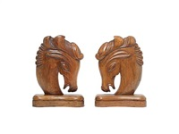 bookends (pair) by lazlo hoenig