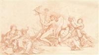 allégorie de la glorification de marcantonio colonna, d'après giovanni colli et filippo gherardi by jean-robert ango