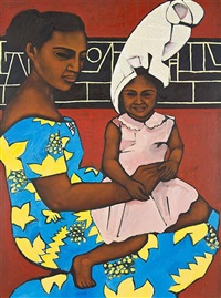 mother and child by nanette lela'ulu