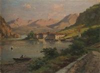 lago, case, monti by silvio poma