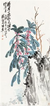 秋色媚空 by chen banding