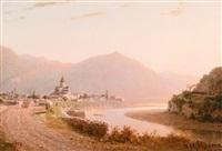 the town mtsheta by petr petrovich vereshchagin