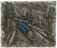 from willesden green, no. 2 by leon kossoff