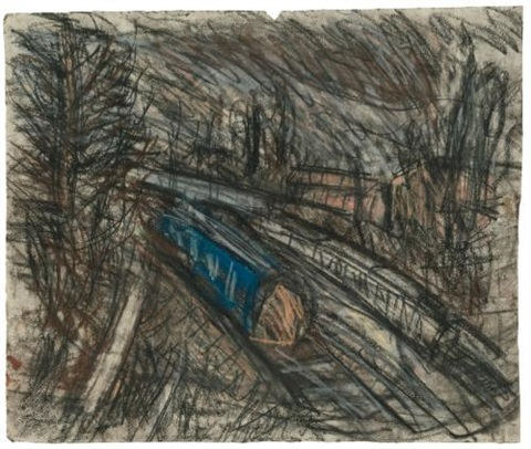 from willesden green no 2 by leon kossoff