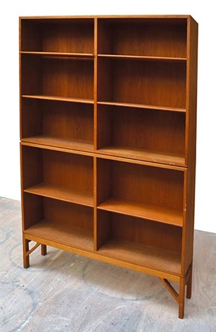 Danish Modular Book Shelves (set Of 2) By Børge Mogensen