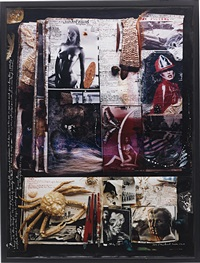 tusk diary pages (+ lartigue and bacon diary pages, 19-20 november, 1984; 2 works) by peter beard