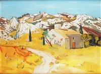 maison dans les alpilles à saint-rémy-de-provence by yves brayer