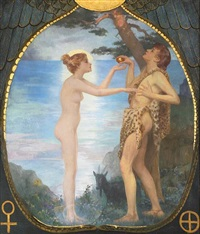 adam and eve by r. machell