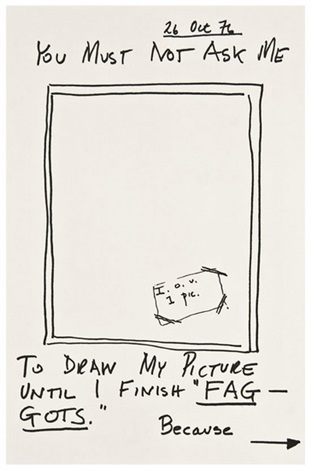 self portrait by larry kramer
