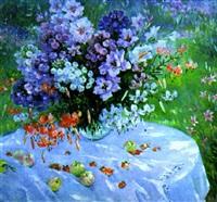 la nature morte d'été by olga smirnova