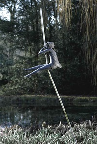 pole vaulter by evert ten hartog
