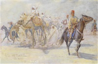 with the red crescent in tripoli by henry charles seppings wright