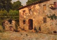 women in a village by emmanuele costa