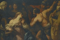 semiramis called to arms by francesco rosa