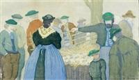 bauernmarkt by karl pferschy