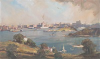 sydney harbour from berry's bay by james ranalph jackson