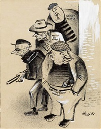 the big shots by william gropper