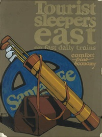 tourist sleepers east/on fast daily trains by sam hyde harris