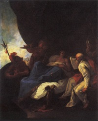 alexander and his physician philip by giuseppe maria bartolini