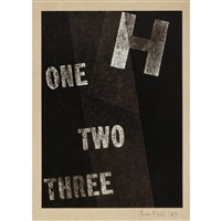 one two three; three (2 works) by lois field