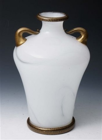 An Italian Murano Two Handled Vase By Barovier Toso Co On Artnet