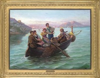 the ballad of a neapolitan fisherman by charles lecomte