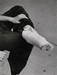 petit pied bandé à l'école dramatique de taipeh, taïwan by paul almasy