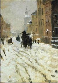 jour de neige by konstantin assol