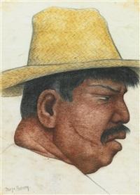 hombre gordo by diego rivera