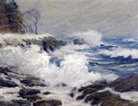 coastal landscape by john nichols haapanen