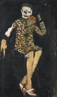 portrait of mrs wall by howard hodgkin