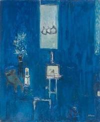 蓝色的花 (les fleurs bleues) by remy aron