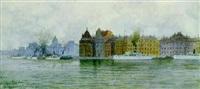 skeppsbron, stockholm by hjalmar falk