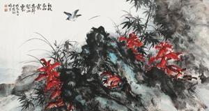 花鸟 by li xiongcai