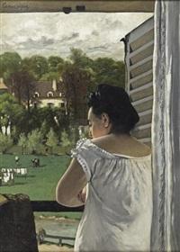 l'épouse du peintre à l'isle - adam by charles camarroque