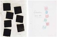 senza titolo (2 works) by carlo ciussi