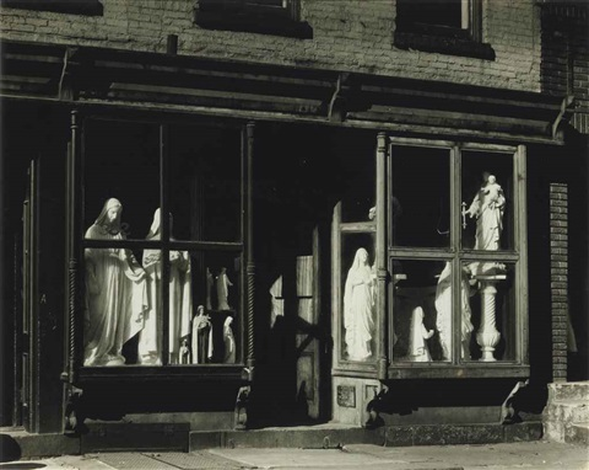 saints for sale, new york by berenice abbott
