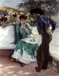 la conquista (the conversation) by pierre ribera
